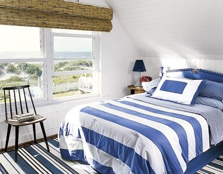 Námořnický plážový styl - foto furniture-trendzona.com