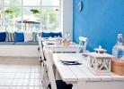 Modro bílá kombinace Řecka - foto creamcounsel.com