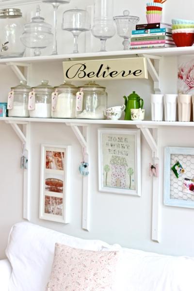 White Kitchen - Open Shelves - 11