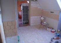 Přidání deskové podlahy a kachliček