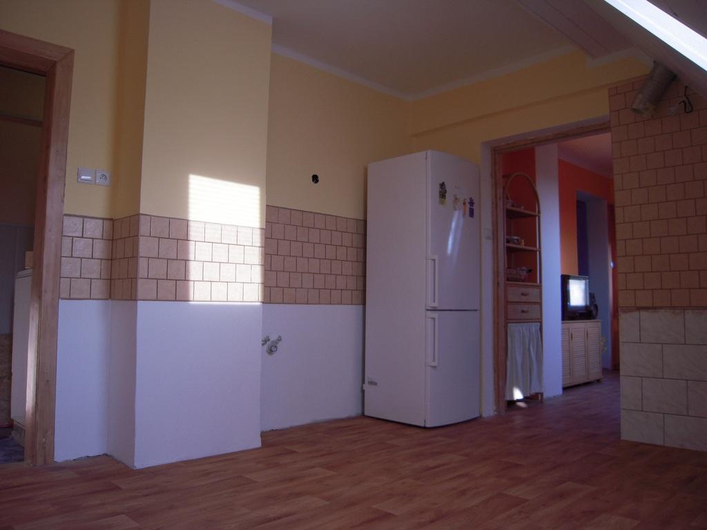 Prostory podkrovní kuchyně