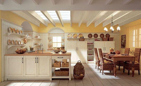 Tipy, kde sehnat kouzelné rustikální kuchyně