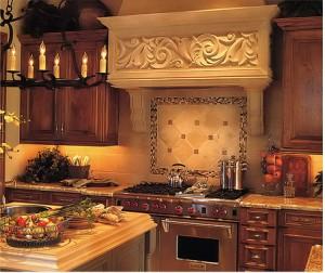 Luxusní španělská kuchyně - foto: decorationchannel.com