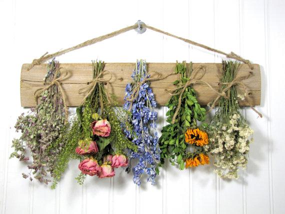 Sušené květiny v interiéru: ano či ne?
