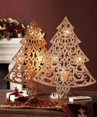 Originální vánoční svícínek - foto: houzz.com