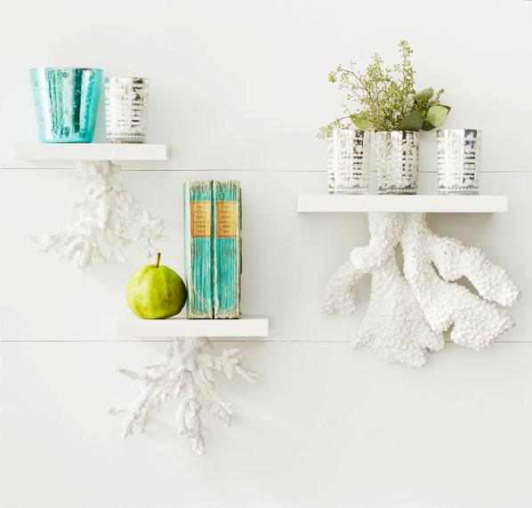 Škeble a mušle jako dekorace: kousek dovolené u vás doma