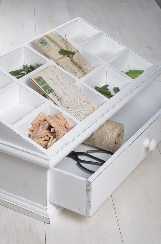Dřevěný úložný box