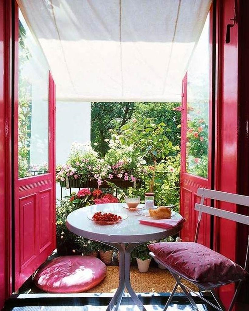 Balkon, terasa nebo lodžie: jak mohou vypadat