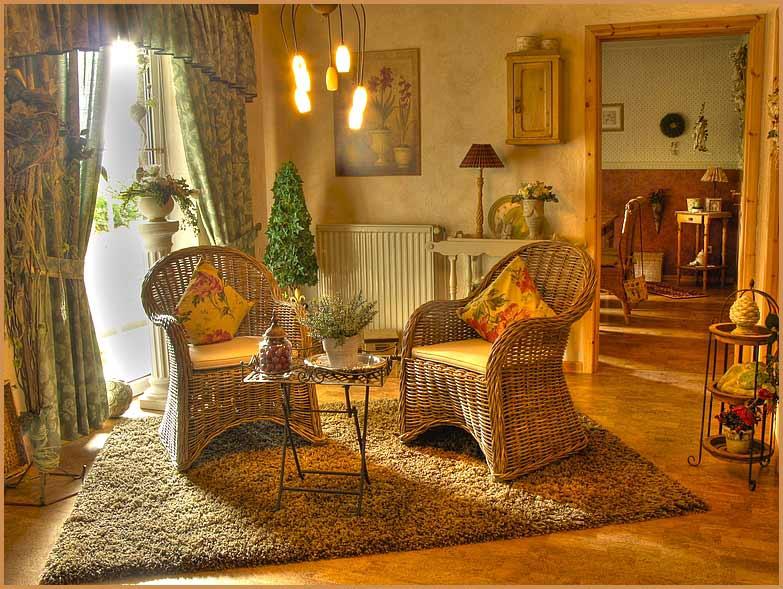 Proutěný nábytek: kousek přírody v exteriéru i interiéru