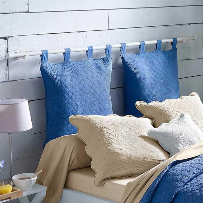 Povlaky na polštáře do čela postele