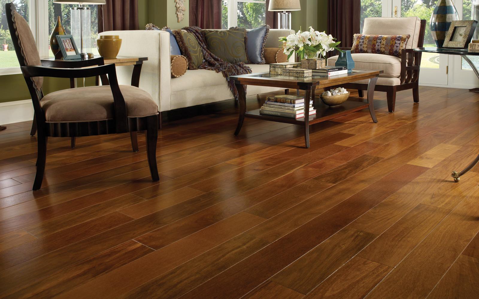 Jak opravit starou dřevěnou podlahu?