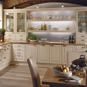 Kuchyně s vůní francouzské Provence